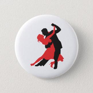 Chapa Redonda De 5 Cm baile de los pares