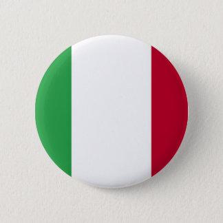 Chapa Redonda De 5 Cm ¡Bajo costo! Bandera de Italia