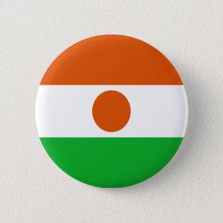 Chapa Redonda De 5 Cm ¡Bajo costo! Bandera de Niger