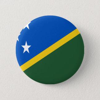 Chapa Redonda De 5 Cm ¡Bajo costo! Bandera de Solomon Island