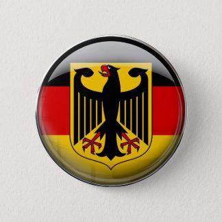 Chapa Redonda De 5 Cm Bandera de Alemania