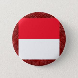 Chapa Redonda De 5 Cm Bandera de alta calidad de Mónaco
