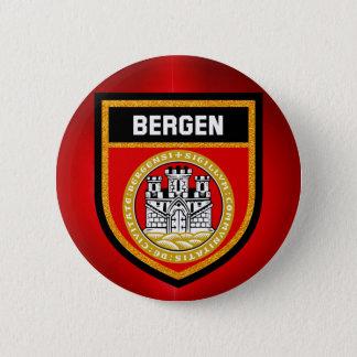 Chapa Redonda De 5 Cm Bandera de Bergen