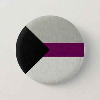 Chapa Redonda De 5 Cm Bandera de Demisexual
