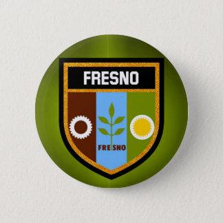Chapa Redonda De 5 Cm Bandera de Fresno