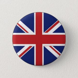 Chapa Redonda De 5 Cm Bandera de Inglaterra