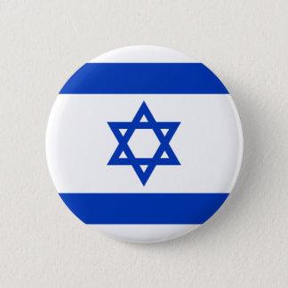 Chapa Redonda De 5 Cm Bandera de Israel