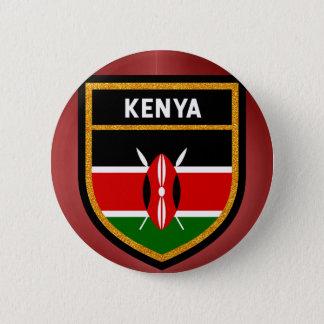 Chapa Redonda De 5 Cm Bandera de Kenia