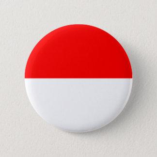 Chapa Redonda De 5 Cm Bandera de la Alsacia-Lorena