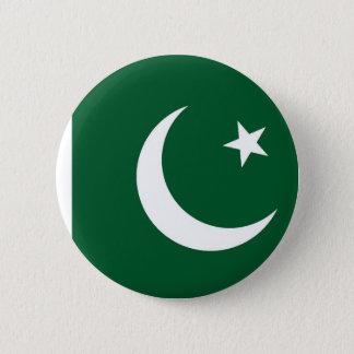 Chapa Redonda De 5 Cm Bandera de Paquistán