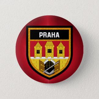 Chapa Redonda De 5 Cm Bandera de Praga
