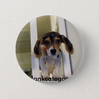 Chapa Redonda De 5 Cm beagle, blankcategory