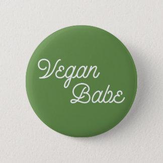 Chapa Redonda De 5 Cm Bebé del vegano