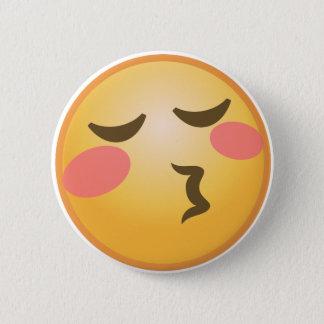 Chapa Redonda De 5 Cm Besar Emoji