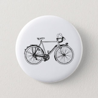 Chapa Redonda De 5 Cm Bicicleta del vintage