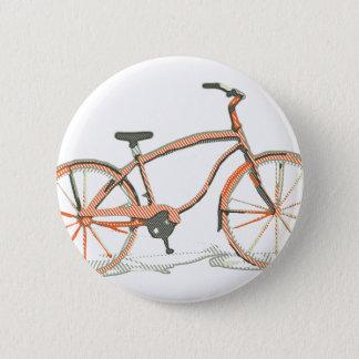 Chapa Redonda De 5 Cm Bicicleta linda