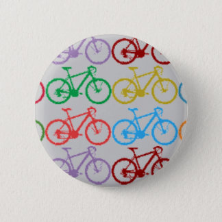 Chapa Redonda De 5 Cm bicicletas del color