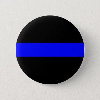 Chapa Redonda De 5 Cm Blue Line fino abotona