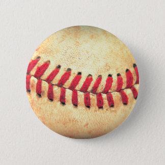 Chapa Redonda De 5 Cm Bola del béisbol del vintage
