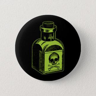 Chapa Redonda De 5 Cm Botella del veneno