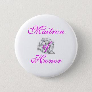 Chapa Redonda De 5 Cm Botón, Maitron del honor
