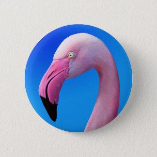 Chapa Redonda De 5 Cm Botones rosados del primer del retrato del