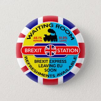 Chapa Redonda De 5 Cm Brexit