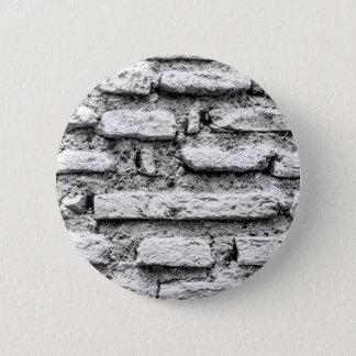Chapa Redonda De 5 Cm Brickwall rústico
