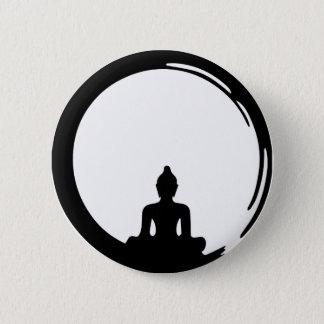 Chapa Redonda De 5 Cm Buda silent