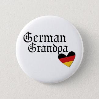 Chapa Redonda De 5 Cm Camiseta alemana del abuelo
