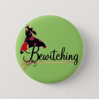 Chapa Redonda De 5 Cm Camisetas y regalos Bewitching de Halloween