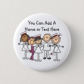 Chapa Redonda De 5 Cm Camisetas y regalos de la semana de las enfermeras