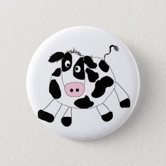 Chapa Redonda De 5 Cm Camisetas y regalos de la vaca de la granja