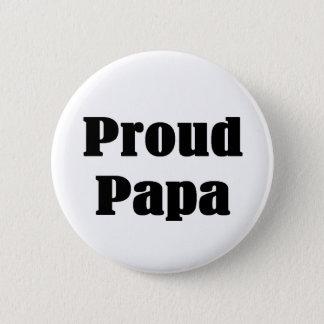 Chapa Redonda De 5 Cm Camisetas y regalos orgullosos de la papá