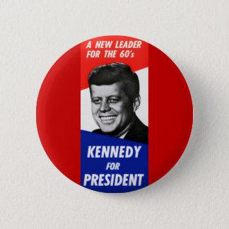 Chapa Redonda De 5 Cm Campaña presidencial 1960 de Kennedy