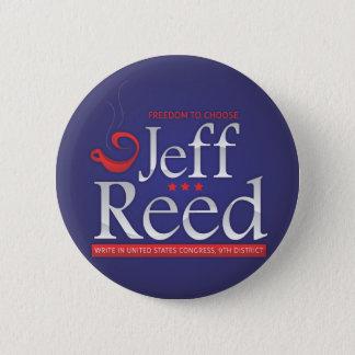 Chapa Redonda De 5 Cm Caña de Jeff para el congreso