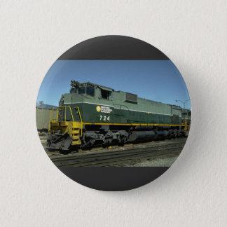Chapa Redonda De 5 Cm Canadá, Columbia Británica, MLW M630 del relais