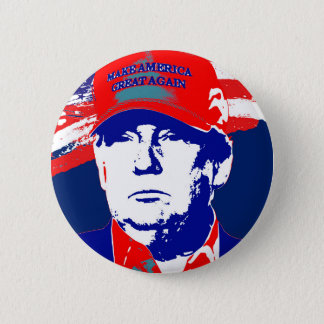 Chapa Redonda De 5 Cm Candidato presidencial de Donald Trump 2016