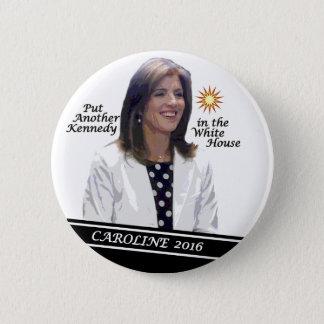 Chapa Redonda De 5 Cm Caroline Kennedy Schlossberg para el presidente