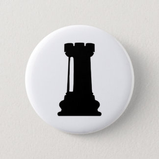 Chapa Redonda De 5 Cm Castillo del ajedrez