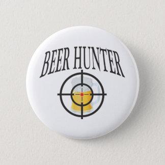 Chapa Redonda De 5 Cm Cazador de la cerveza