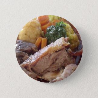 Chapa Redonda De 5 Cm Cena de la carne asada