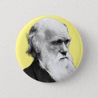Chapa Redonda De 5 Cm Charles Darwin