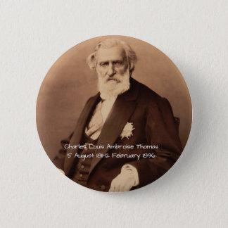 Chapa Redonda De 5 Cm Charles Louis Ambroise Thomas