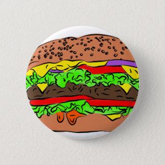 Chapa Redonda De 5 Cm Cheeseburger