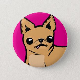 Chapa Redonda De 5 Cm ¡Chihuahua de Ay!