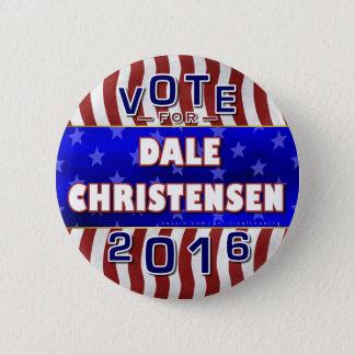 Chapa Redonda De 5 Cm Christensen para el republicano 2016 del