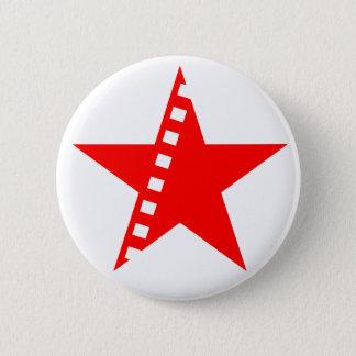 Chapa Redonda De 5 Cm Cine socialista revolucionario