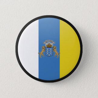 Chapa Redonda De 5 Cm Círculo de la bandera de la calidad de las islas