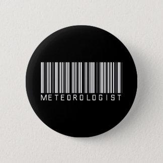 Chapa Redonda De 5 Cm Clave de barras del meteorólogo
